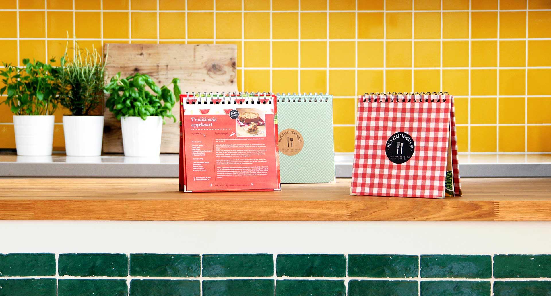 kookboek zelf invullen